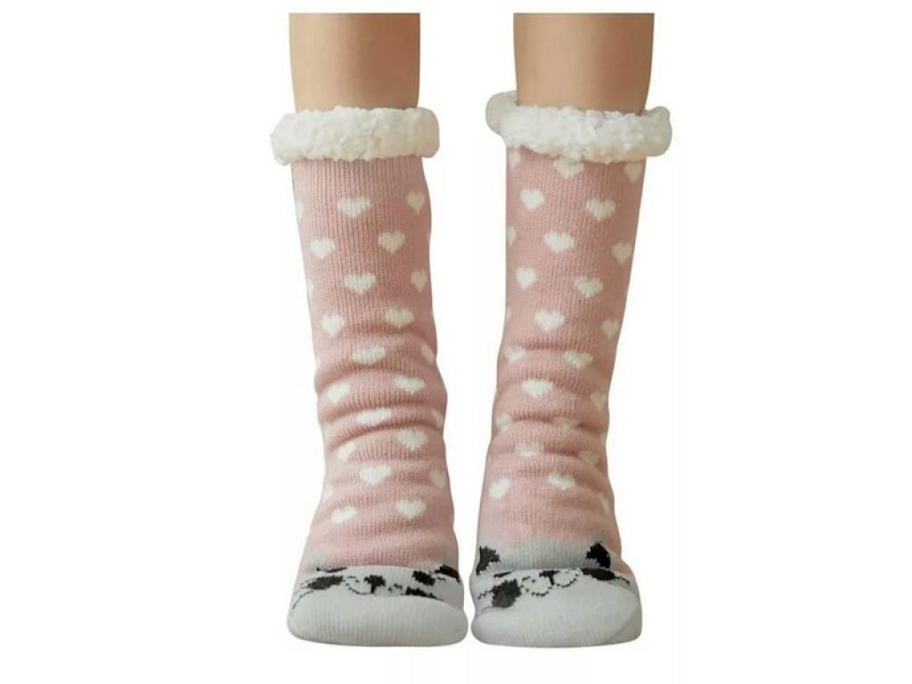 θερμικό fleece χειμωνιάτικες κάλτσες παντόφλες Κάλτσες